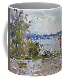 The End Of A Rainy And Gray Day  Coffee Mug