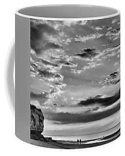 The End Of The Day, Old Hunstanton  Coffee Mug by John Edwards