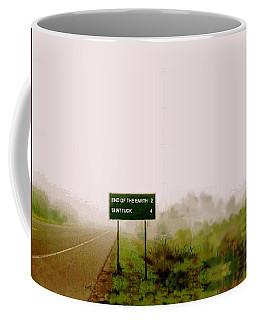 The End Of The Earth Coffee Mug