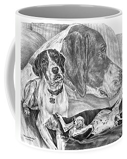 The English Major - English Pointer Dog Coffee Mug