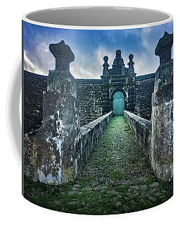 Coffee Mug featuring the photograph The Entrance To Fortress Of Sao Joao Baptista On Monte Brasil by Kelly Hazel
