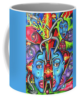 The Esoteric Force Of Molecular Mentality Coffee Mug