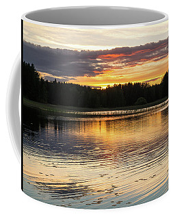 The Evening Came Softly With The Sunset Coffee Mug