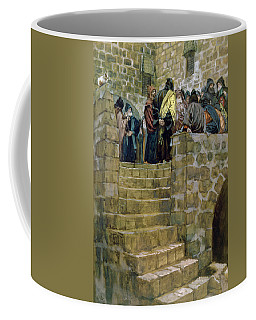 The Evil Counsel Of Caiaphas Coffee Mug