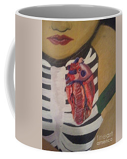 The Exposed Heart Of An Angel Coffee Mug by Talisa Hartley