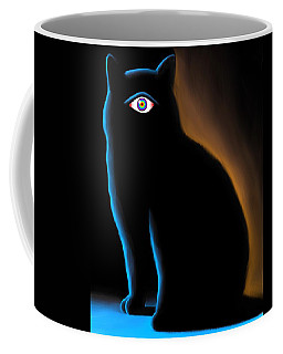 The Eye Have It Coffee Mug by Salman Ravish