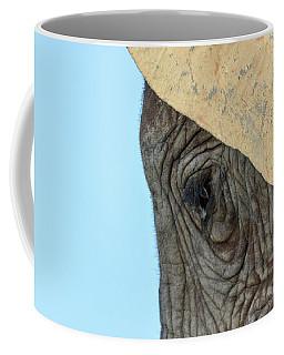 The Eye Of An Elephant Coffee Mug