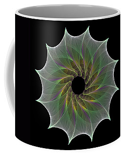 Coffee Mug featuring the digital art The Eye Of God by Denise Beverly