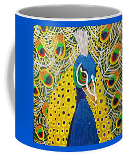 The Eye Of The Peacock Coffee Mug