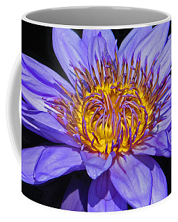 The Eye Of The Water Lily Coffee Mug