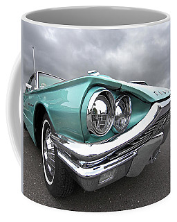Coffee Mug featuring the photograph The Eyes Have It - 1964 Thunderbird by Gill Billington