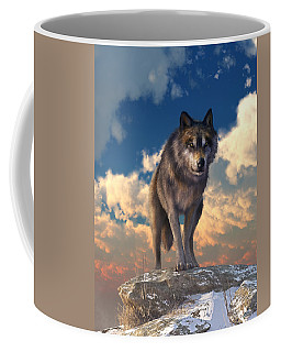 The Eyes Of Winter Coffee Mug