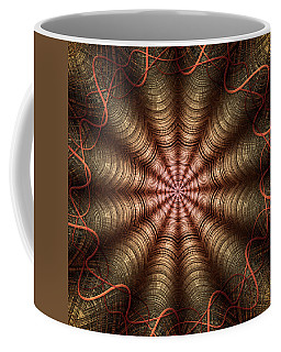 The Fabric Of The Space-time Continuum Coffee Mug