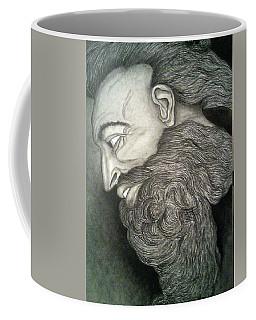 The Face Of God Coffee Mug