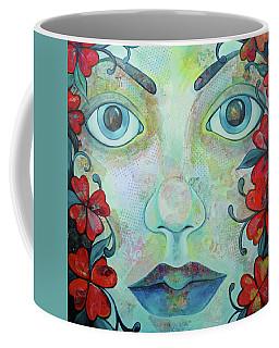 The Face Of Persephone I Coffee Mug