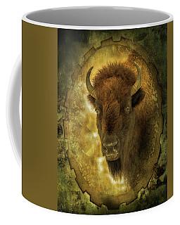 The Face Of Tatanka Coffee Mug