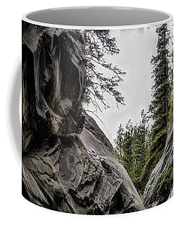 Coffee Mug featuring the photograph The Faces Of Jura Creek Canyon by Brad Allen Fine Art