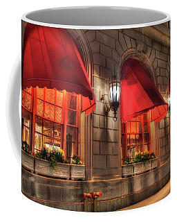 Coffee Mug featuring the photograph The Fairmont Copley Plaza Hotel - Boston by Joann Vitali