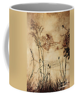 The Fairy's Tightrope From Peter Pan In Kensington Gardens Coffee Mug
