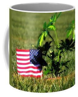 Coffee Mug featuring the photograph The Fallen by Amanda Eberly-Kudamik