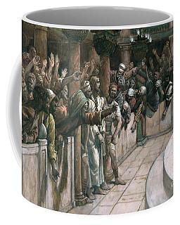 The False Witness Coffee Mug