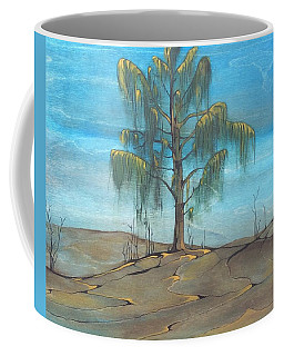 The Feather Tree Coffee Mug by Pat Purdy
