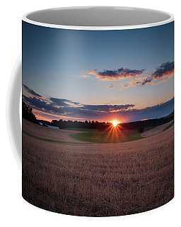 The Fields At Sunset Coffee Mug