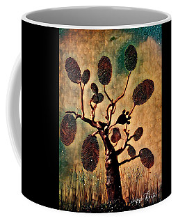 The Fingerprints Of Time Coffee Mug by Vennie Kocsis