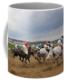 The Finish Line Coffee Mug by Davandra Cribbie
