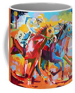 The Finishing Post- Large Work Coffee Mug