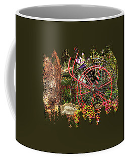 Coffee Mug featuring the photograph The Fire Hose Reel by Thom Zehrfeld