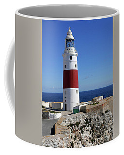 The First And Last Lighthouse On The Continent Of Europe Coffee Mug