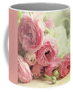 Coffee Mug featuring the photograph The First Bouquet by Sylvia Cook