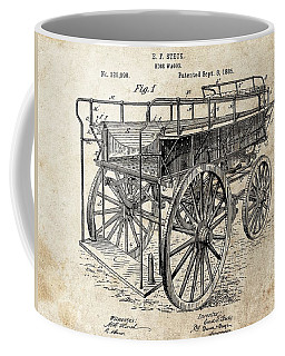 The First Fire Wagon Coffee Mug