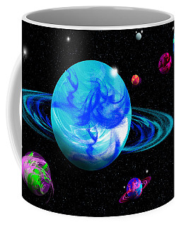 The First Space Frontier Coffee Mug by Samantha Thome