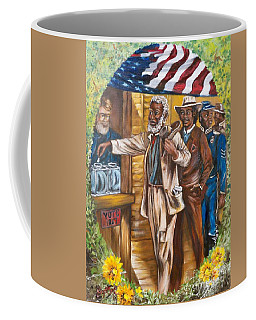 Historical  Artwork     First Vote - 1867 Coffee Mug