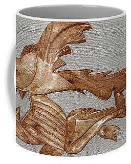 The Fish Skeleton Coffee Mug by Robert Margetts