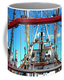 Coffee Mug featuring the photograph The Fishing Boat by John Rizzuto