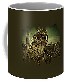 Coffee Mug featuring the photograph Mary D. Hume Shipwreak by Thom Zehrfeld