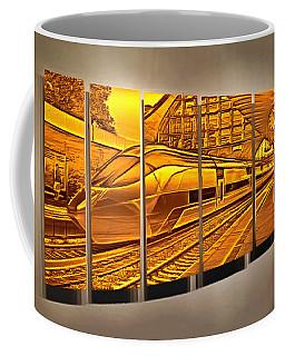 The Five Past Eleven Train Coffee Mug