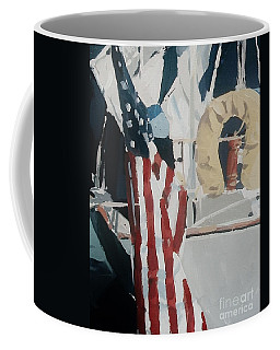 The Flag Coffee Mug by Andrew Drozdowicz