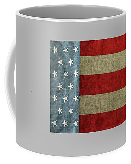 Coffee Mug featuring the photograph The Flag by Tom Prendergast