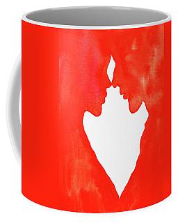 The Flame Of Love Coffee Mug by Iryna Goodall