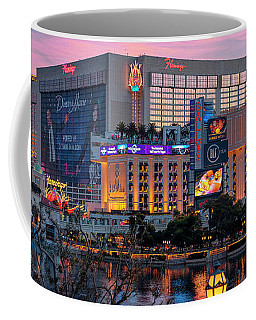 The Flamingo Casino At Dawn 2 To 1 Ratio Coffee Mug