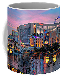 The Flamingo Casino At Dawn Coffee Mug