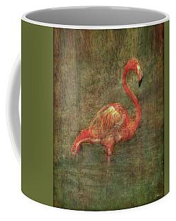 Coffee Mug featuring the photograph The Flamingo by Hanny Heim