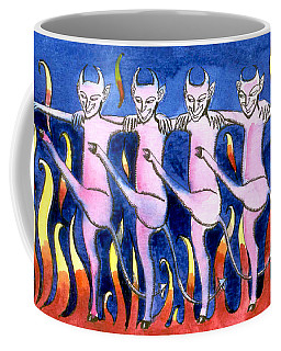 The Floorshow In Hell Coffee Mug