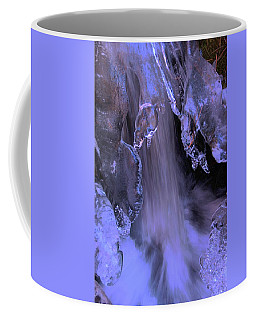 The Flow Of Winter-2 Coffee Mug by Sean Sarsfield