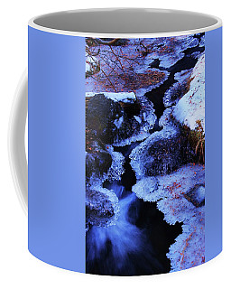 The Flow Of Winter Coffee Mug by Sean Sarsfield