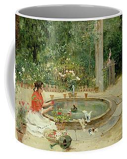 The Flower Garden Coffee Mug